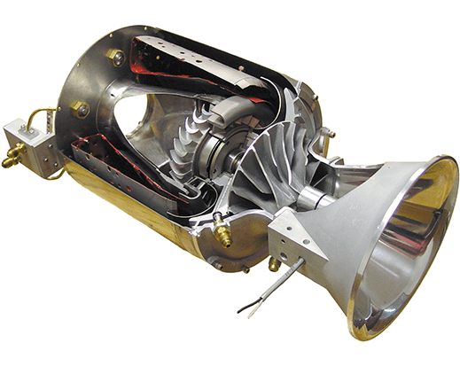 Cut Away Model of a Jet Engine