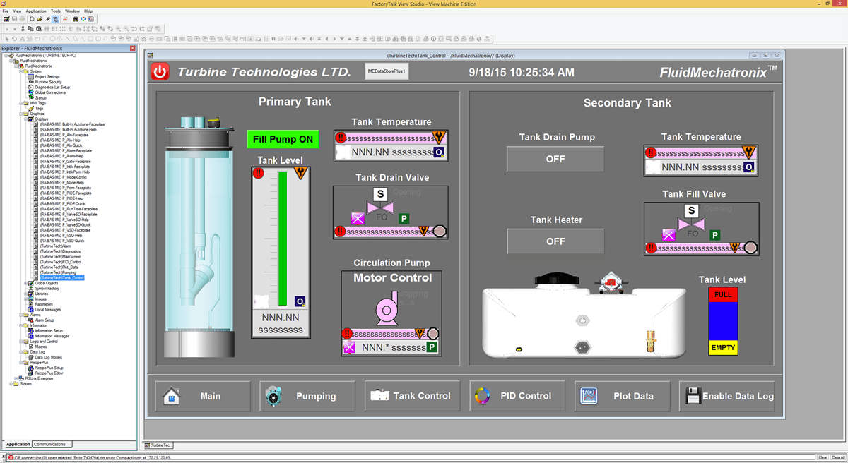 Industrial Fluid Process Automation Trainer V8 Engine Diagram And Jet Drive Education
