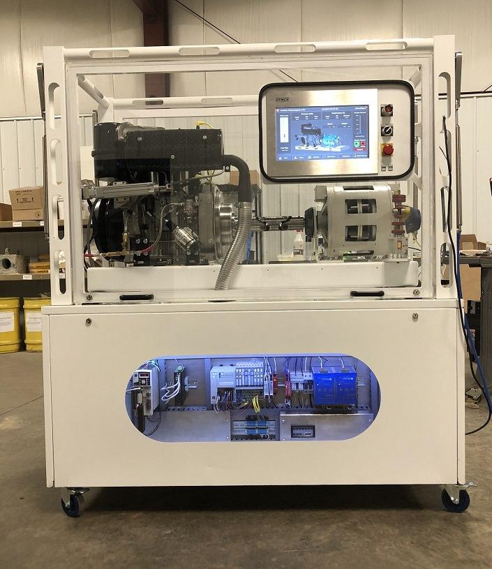Turbine Technologies   Diesel Engine Dynamometer Lab