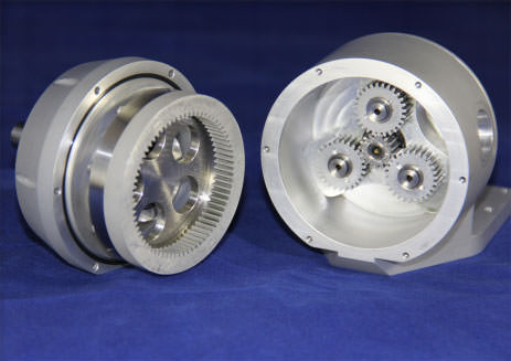 disassembled planetary gear-box